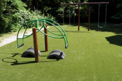 Completed Playground w/turf